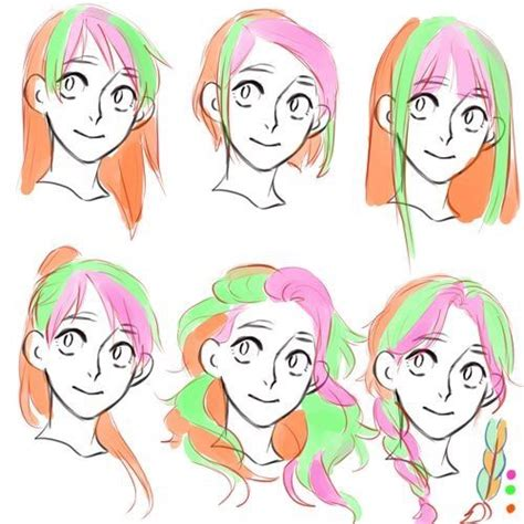 hair references images  pinterest