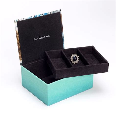 decorative ideas for kitchen personalised jewellery box with photo custom jewellery