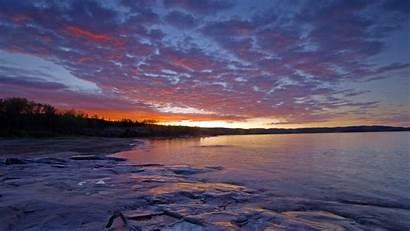 Superior Lake Canada Wallpapers Dawn Cave Lakes