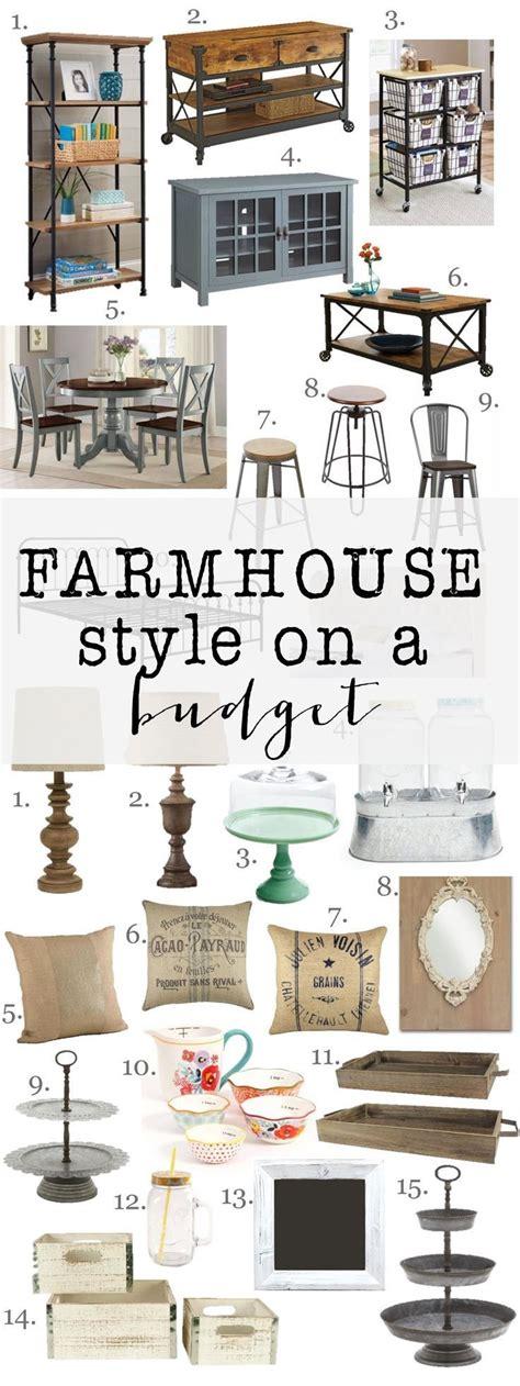 farmhouse style on a budget amazing farmhouse furniture