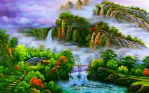 Beautiful Abstract Art Landscape Painting