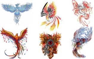 Phoenix Bird Tattoo Designs