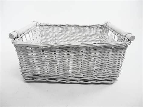 Kitchen Log Decorative Full Wicker Storage Basket Xmas