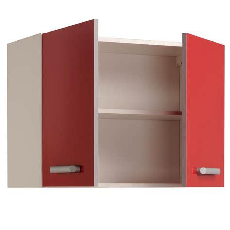 portes de cuisine meuble haut de cuisine contemporain 2 portes 80 cm blanc