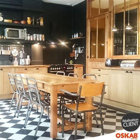 meuble cuisine bistrot cuisine bistrot et bois esprit bistrot parisien
