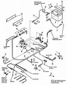 Simplicity Lawn Mower Wiring Diagram
