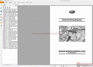 Land Rover Evoque 2012 Electrical Wiring Diagram