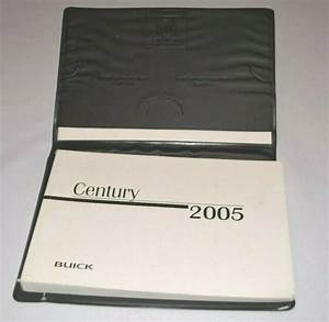 2005 Buick Century Owners Manual Guide Book Set With Case
