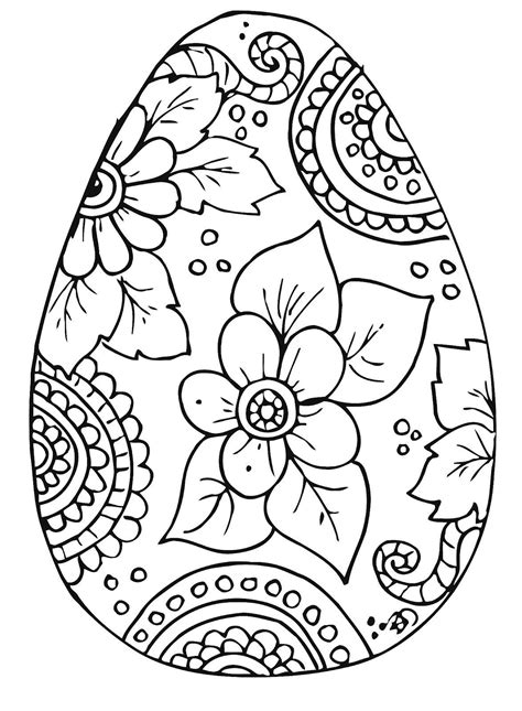 easter coloring coloring books pages easter