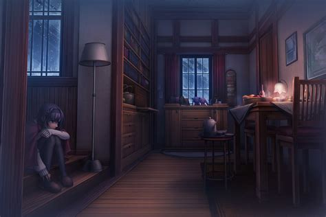 Anime House Wallpaper - wallpaper landscape anime room house indoors