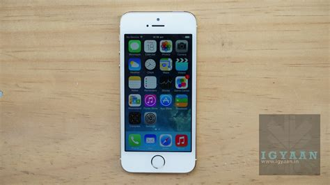 how is the iphone 5s iphone 5s igyaan network