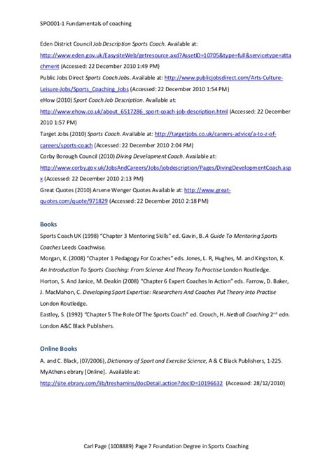Description Of Softball Coach Resume by The Roles And Responsibilities Of A Coach Football Development Coach