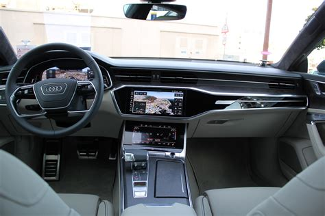 2019 Audi A7 Interior 2019 audi a7 review and drive fourtitude