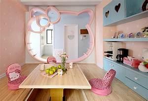 Chambre Hello Kitty : id es d coration chambre enfant hello kitty ~ Voncanada.com Idées de Décoration