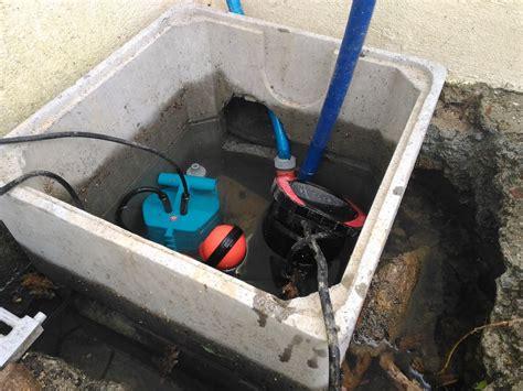 terrain source nappe et innondation sous sol