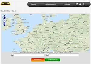 Fahrtstrecke Berechnen : taxipreise deutschland kosten f r taxifahrten und der taxi fahrpreisrechner ~ Themetempest.com Abrechnung