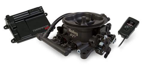 Holley Efi 550-406 Terminator Efi 4bbl Throttle Body Fuel