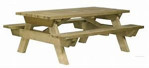 Table Bois Pique Nique : code fiche produit 6610737 ~ Melissatoandfro.com Idées de Décoration