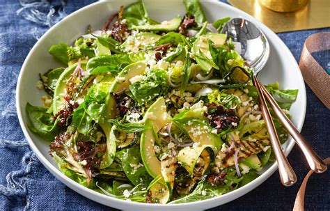 green salad recipe  homes  gardens