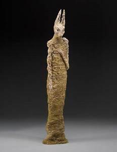 Figurative Ceramic Sculpture: Emancipation by Adele Macy