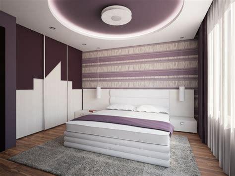 plafond chambre faux plafond moderne dans la chambre à coucher et le salon