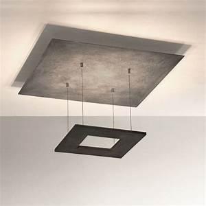 Led Deckenleuchte 80 Cm : led deckenleuchte zen betonoptik 60 x 60 cm wohnlicht ~ Orissabook.com Haus und Dekorationen