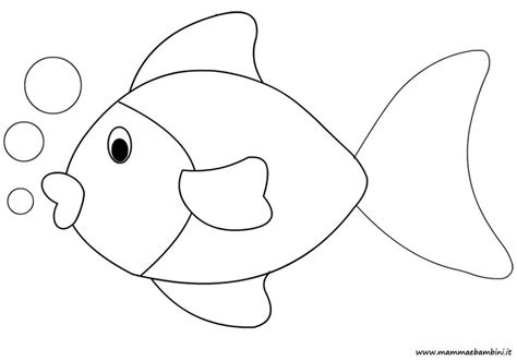 disegno pesce da colorare per bambini disegno pesce da colorare mamma e bambini