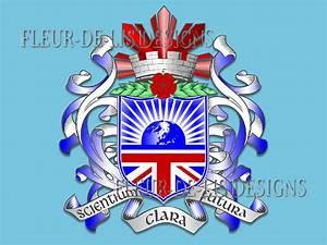 Sample Building Estimate Fleur De Lis Designs Sample School Crest Designs