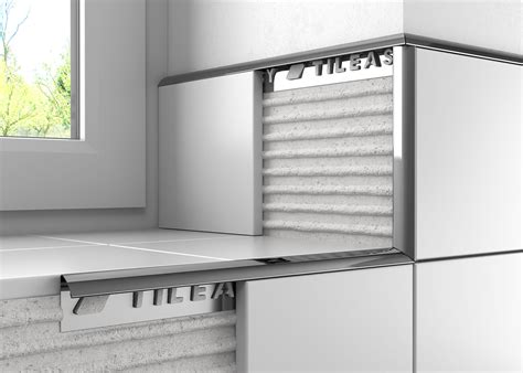 metal polished stainless steel tile trim tileasy