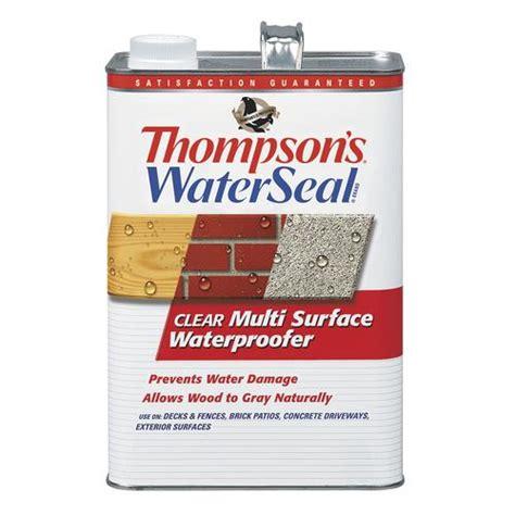 thompsons waterseal clear multi surface waterproofer