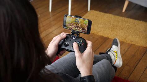 connect  xbox controller  fortnite mobile tech men