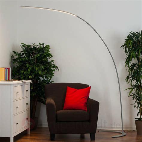 stehlampe bogenleuchte wohnzimmer bogenform deckenfluter