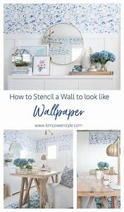 Wall, Stencilling, How