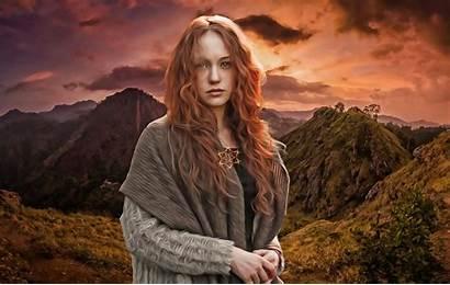Celtic Pagan Irish Mythology Gods Woman Lora