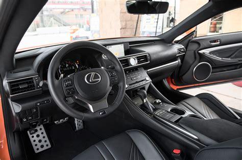 lexus rc interior all new 2015 lexus rc f packs 467 horsepower and 63 325