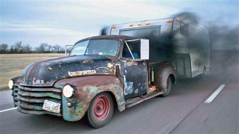 custom  chevy rat rod pickup video