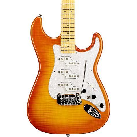foto de G&L Comanche Electric Guitar HoneyBurst Music123