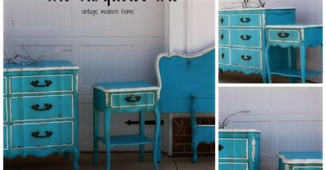 Vintage Modern Hand Painted Furniture