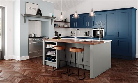clonmel stone  parisian blue kitchensdirectni kitchen
