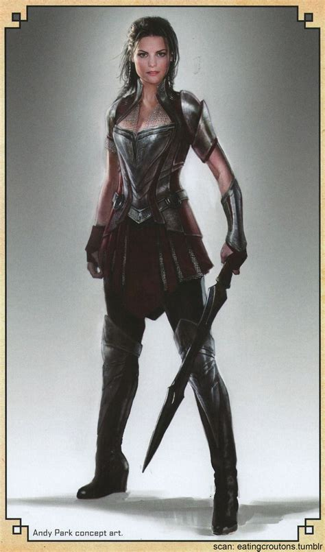 More Cool Concept Art For Thor The Dark World Lady Sif