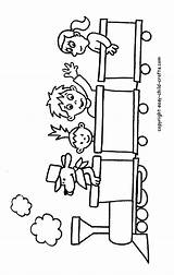 Coloring Pages Train Printable Caboose Trains Clipart Children Drawings Crafts Easy Clip Printables Child Cliparts Fun Colouring Library Toy Coloringhome sketch template
