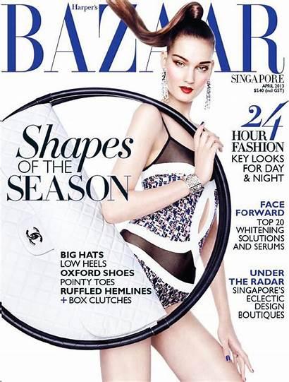 Bazaar Singapore Kirsi Pyrhonen Harper April Val
