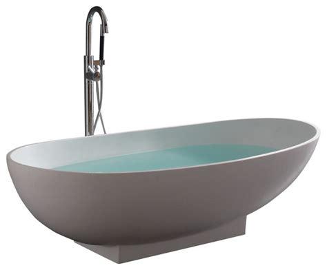stand alone bathtubs stand alone resin bathtub modern bathtubs by adm