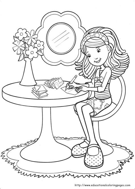 groovy girls coloring pages   kids