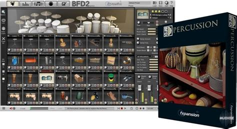 fxpansion bfd percussion expansion pack hybrid
