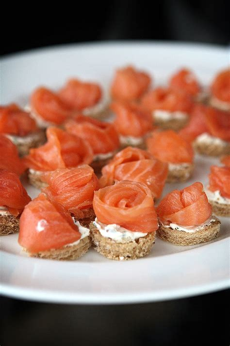 salmon canapes 1000 images about canapes on balsamic