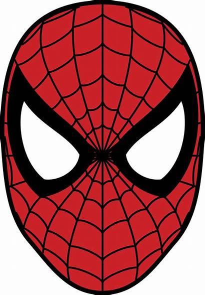 Spider Svg Aranha Homem Mascara Spiderman Face