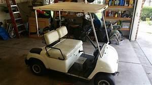 2002 Yamaha G19e 48 Volt Electric Golf Cart New Batteries