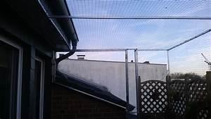 katzennetz zum offnen auf dachterrasse in langenfeld With feuerstelle garten mit katzennetz balkon ohne dach