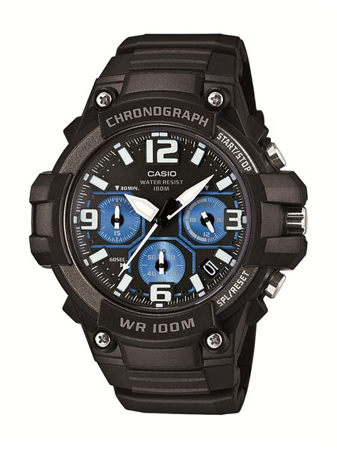 casio heavy duty chronograph design